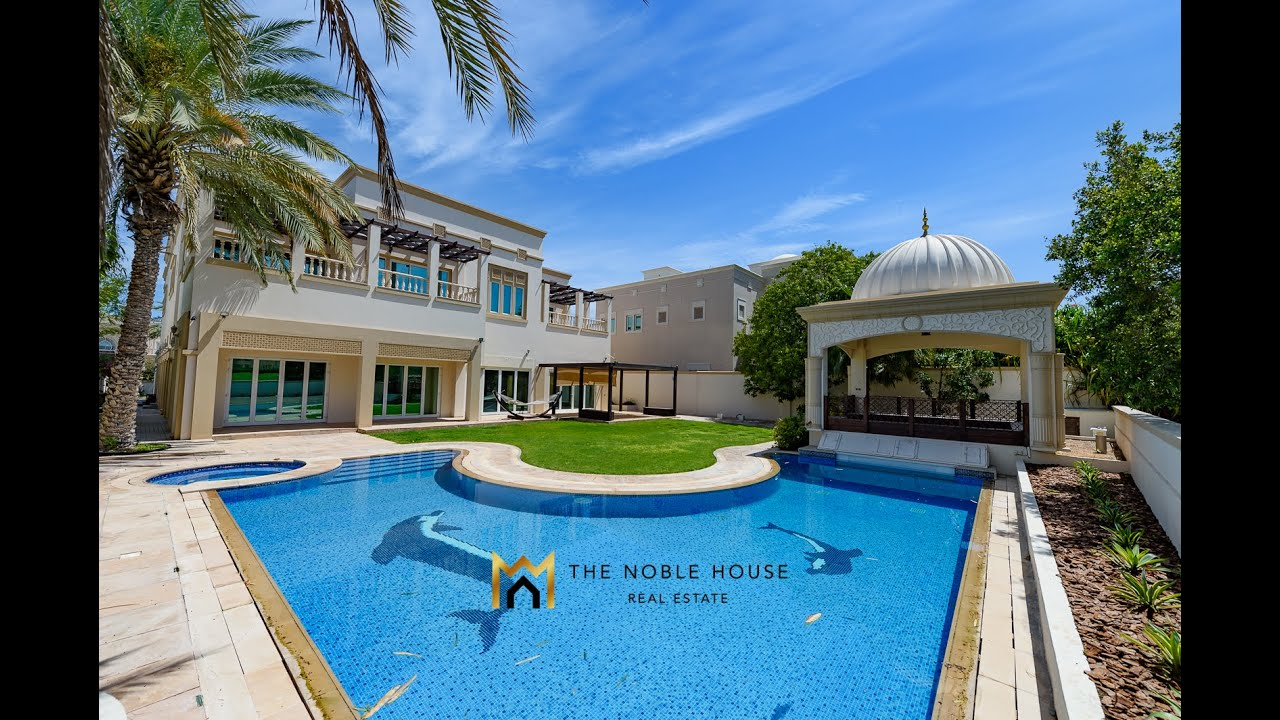 Luxury VIlla In Emirates Hills Dubai For Sale - The Noble House Real Estate - TNH S 1210 - YouTube