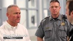 Carroll County Jail tour with Sheriff's Chief Deputy Brad Robinson