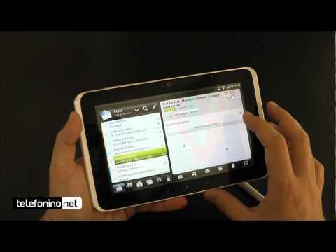 HTC Flyer videoreview da Telefonino.net