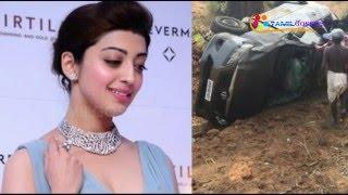 Actress Pranitha Injured in accident