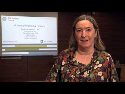 CFA Society France Future of Women and Finance Event