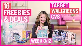 ★ 16 FREEBIES & Deals at Target, CVS, & Walgreens (Week 8/12 – 8/18)