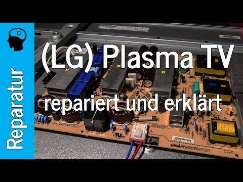 """Plasma TV Reparatur: """"schaltet sofort wieder aus"""" (LG 60PK950)"""