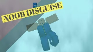 Roblox - Noob Disguise Troll... New Update Theory + Jump/Speed Glitch
