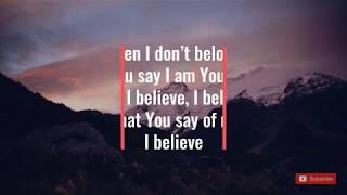 Lauren Daigle | You Say | Lyrics Video