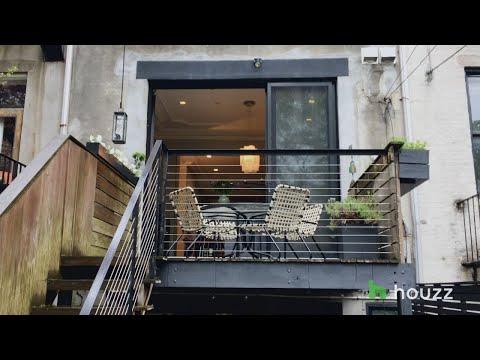 Go Inside A New York Designer's Brownstone Home In Brooklyn, New York