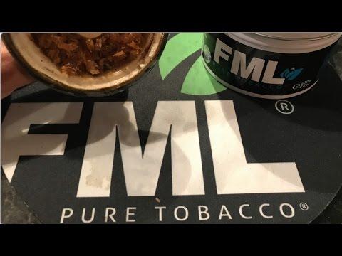 Pure Tobacco: FML Blue Review (2017)