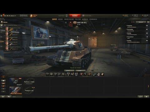 World of Tanks CZ (192.díl) - AMX M4 mle. 49 Liberté