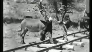 charlie chaplin train Fight comedy videos   YouTube 360p