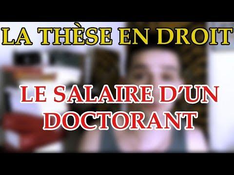 QUEL EST LE SALAIRE D'UN DOCTORANT ? Prof Jon.