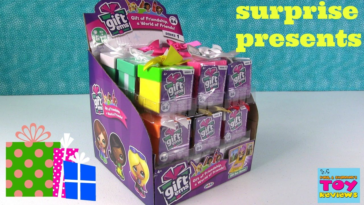 Gift Ems Surprise Present Opening Unboxing Jakks Pacific ...