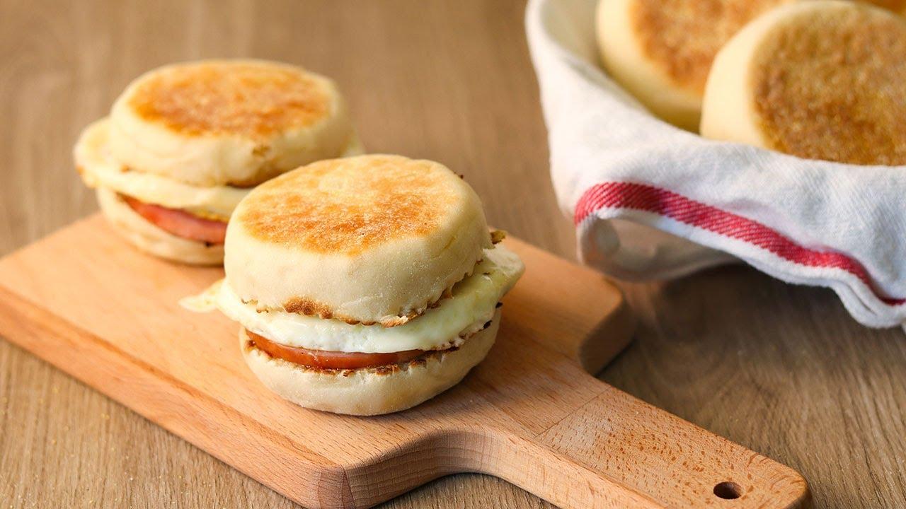 英式马芬 早餐三明治面包 English Muffin