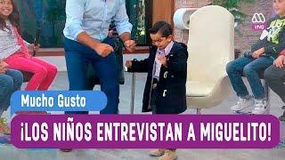 MiniGusto - Los niños entrevistan a Miguelito - Mucho Gusto 2016