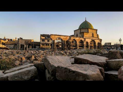جدل في الموصل بسبب إعادة إعمار المسجد النوري ومئذنته الحدباء