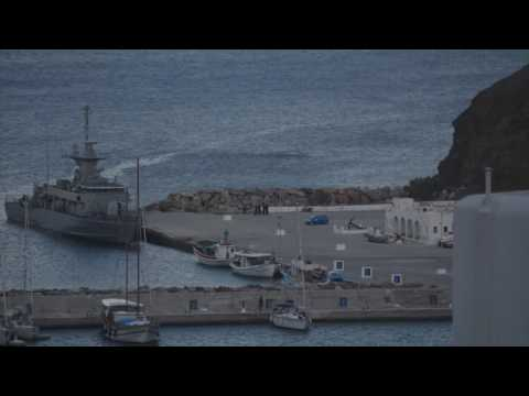 Greek Navy Exercise