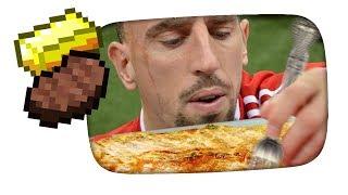 Ribery und das Goldsteak