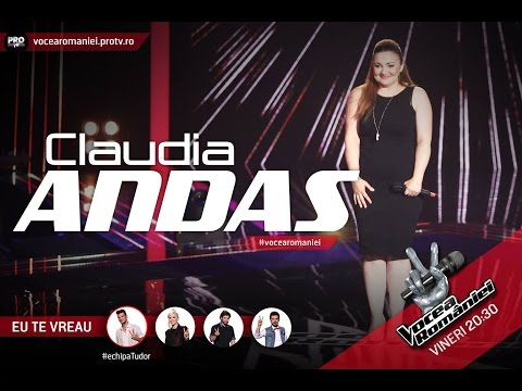 Claudia Andas-Simply the best(Tina Turner)-Vocea Romaniei 2015-Auditii pe nevazute Ed. 1-Sezon 5 from YouTube · Duration:  1 minutes 34 seconds