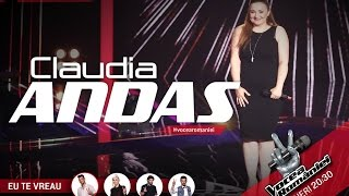 Claudia Andas-Simply the best(Tina Turner)-Vocea Romaniei 2015-Auditii pe nevazute Ed. 1-Sezon 5