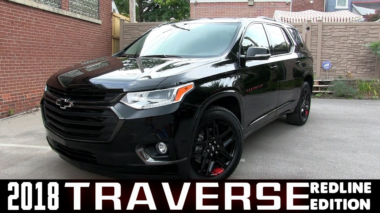 chevy traverse chevrolet blackout redline edition premiere overview cummins dan badges