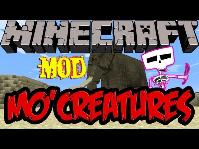 Minecraft Mods | Tutorial Como Instalar Mo'creatures para MC 1.5.1 y 1.5.2 Videos De Viajes