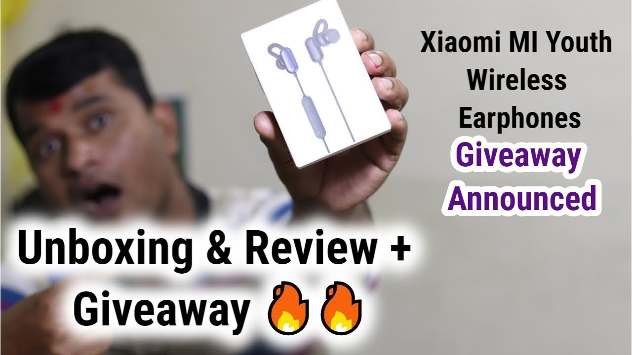 d2225c04c7f Xiaomi MI Youth Wireless Earphones Unboxing & Review + Giveaway ...