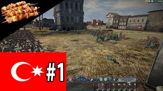 Kebeb Rises! Let`s Play The Great War Mod 5.1.4 as The Ottoman Empire Part 1
