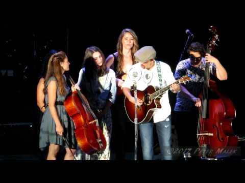 Jason Mraz, Sara Bareilles, & Raining Jane - You Matter To Me & Long Drive - Hollywood