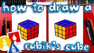 How To Draw A Rubik