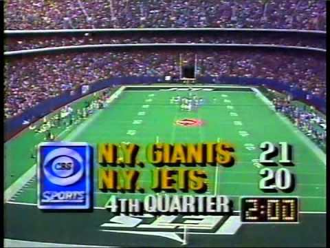Giants @ Jets
