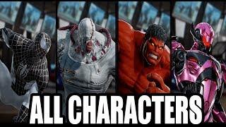 Marvel vs Capcom: Infinite - All Character Shaders / Variations (FULL HD)