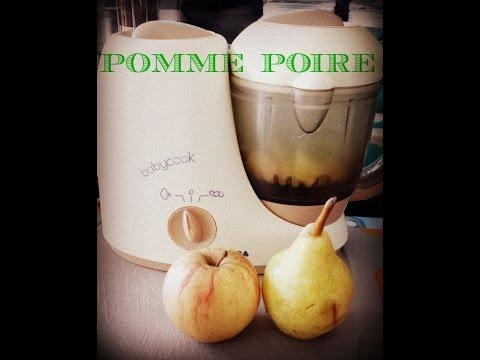 (-recette-bébé-n°2-)-pomme-poire-au-babycook
