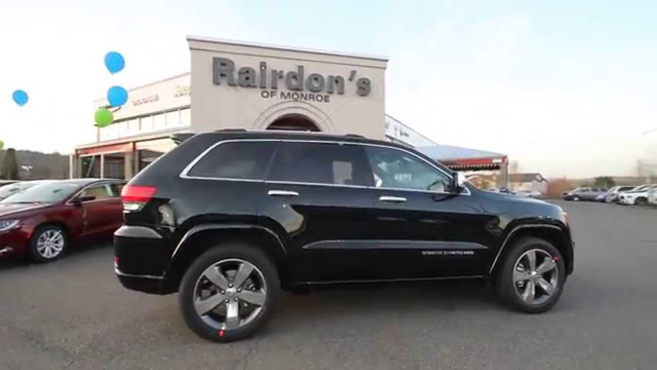 2015 Jeep Grand Cherokee Overland Forest Green