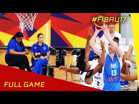 Bosnia and Herzegovina v Dominican Republic - Full Game - 2016 FIBA U17 World Championship