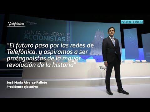 José María Álvarez-Pallete - Discurso Junta General de Accionistas de Telefónica 2019