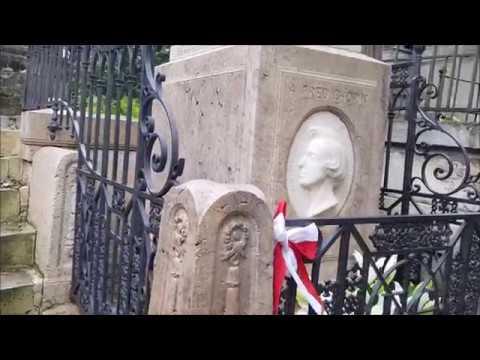 Париж. Кладбище Пер-Лашез: знаменитые могилы