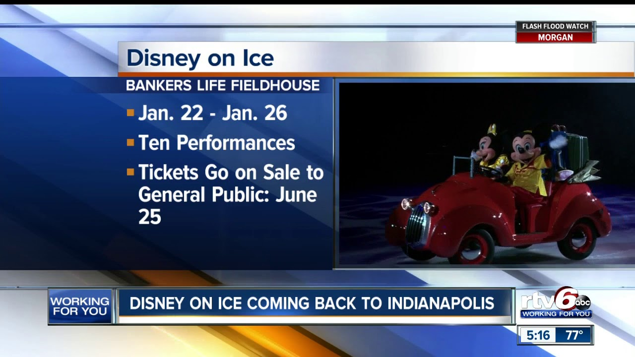 Disney on Ice coming back to Indianapolis