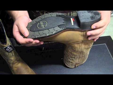 Double H- Mens- Black GEL ICE Work Western Boots