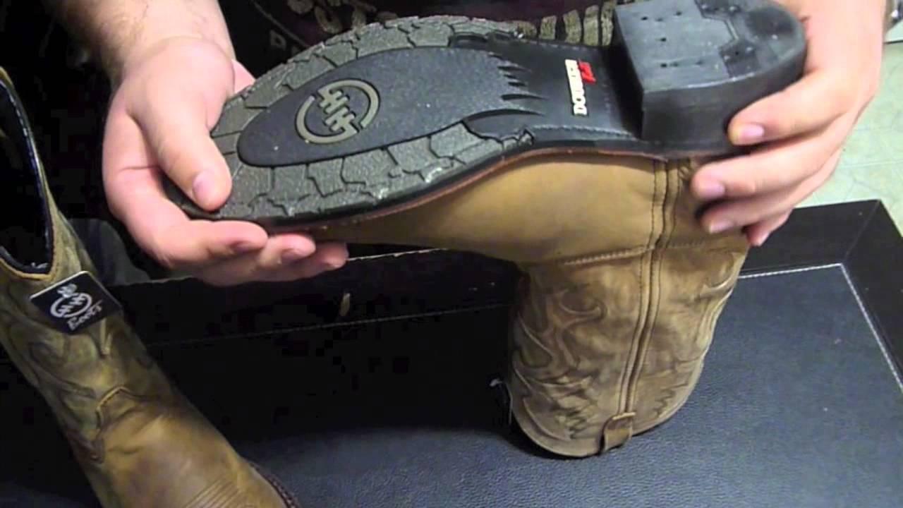 0295cfaefe8 Double H- Mens- Black GEL ICE Work Western Boots