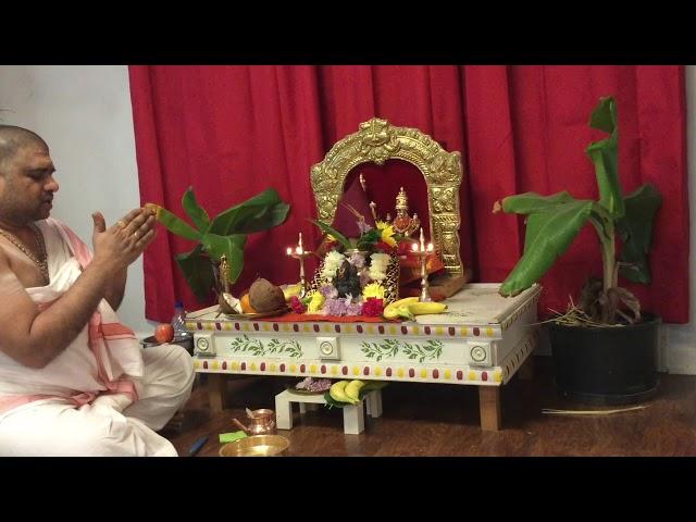 Ganapati Homam and Ganapati Abhishekam on Every Sankashti