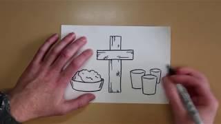 The Cross - Communion Talk & Draw