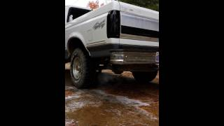 1993 Ford F-150 XLT with Flowmaster 40 Series
