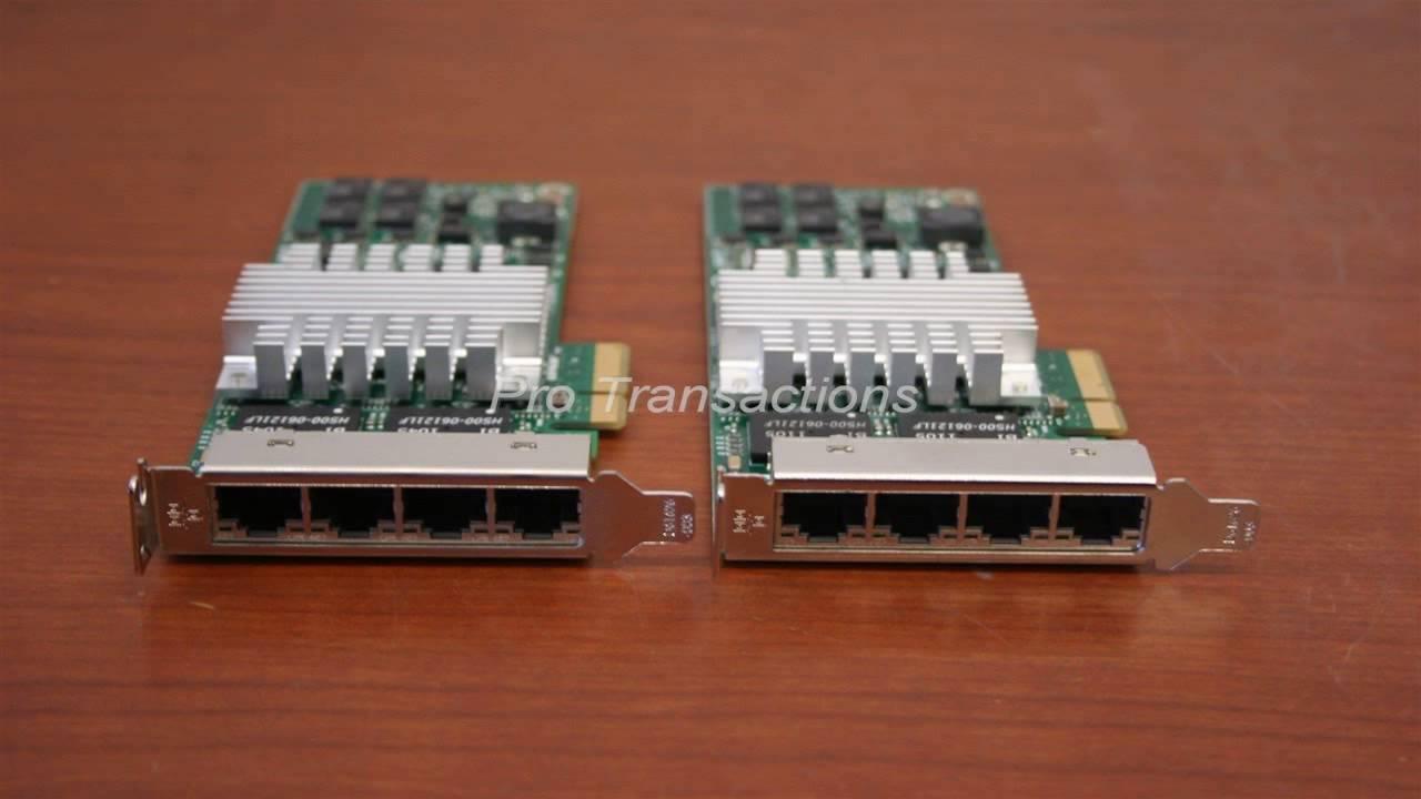 Intel PRO1000 PT Quad Port LP Server Adapter