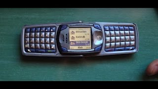 Nokia 6820 retro review (old ringtones, wallpapers & games) rare flip phone