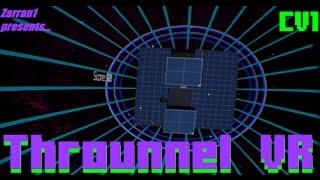 オクルスリフト Oculus Rift Virtual Reality: ThrounnelVR, first person space tetris :)