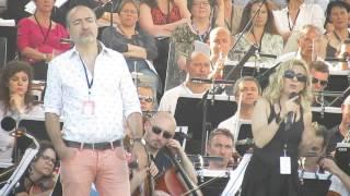Dessay & Naouri rehearse Les Parapluies de Cherbourg - Le Concert de Paris 2014