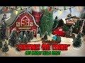 """Christmas Tree Corner"" - 2017 Holiday Village Display"