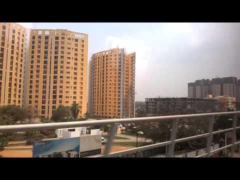 Bangalore Metro green line - Yeshwantpur industry to Yeshwantpur