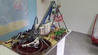 Space Oddity Lego roller coaster