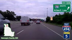 Time Lapse Drive - Twin Cities, MN to the Quad Cities, IA/IL