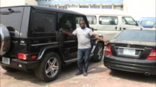 Mercedes Benz SUV, Range Rover Sport seized as EFCC arrest 8 over internet scam.